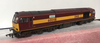 HORNBY R2780 TTC EWS Class 60 60048 ' EASTERN ' DCC READY (Not Fitted) - Weathered/Renumbered